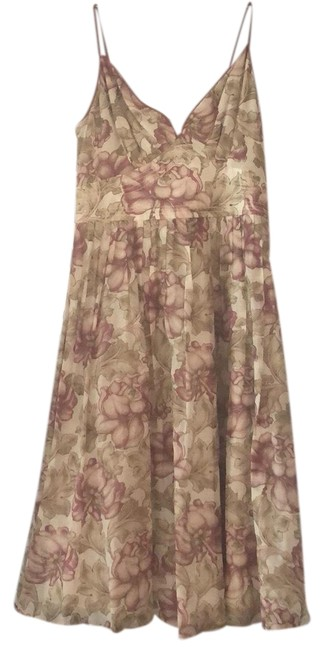 Preload https://img-static.tradesy.com/item/23788677/massimo-dutti-ivory-mauve-pink-summer-floral-short-casual-dress-size-0-xs-0-1-650-650.jpg