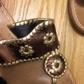 Jack Rogers gold, bronze, brown Sandals Image 3