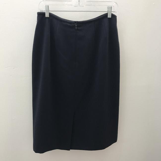 Albert Nipon Skirt Navy Image 1