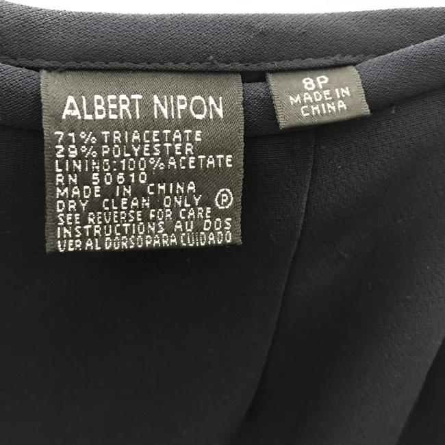 Albert Nipon Skirt Navy Image 2