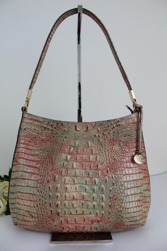 Farrah Leather Shoulder Hobo Sahara Bag Brahmin Melbourne Cwxdq0qP