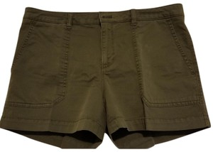 Banana Republic Citychino Chino Mini/Short Shorts Olive