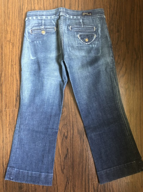 Citizens of Humanity Capri/Cropped Denim-Distressed Image 1