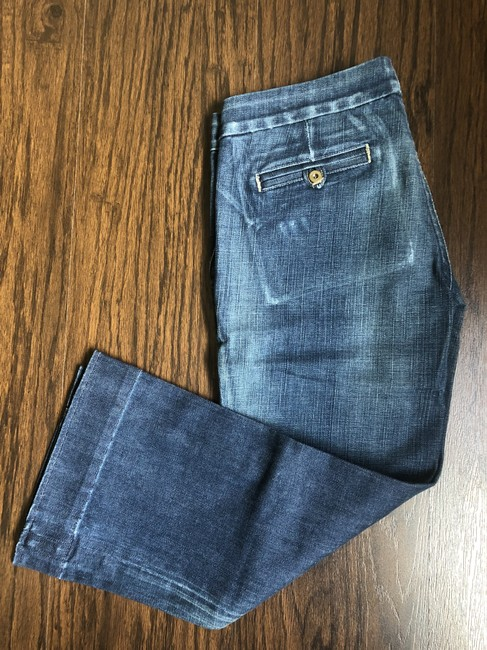 Citizens of Humanity Capri/Cropped Denim-Distressed Image 3