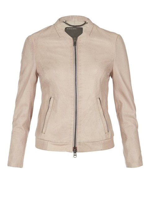 Preload https://img-static.tradesy.com/item/23789419/muubaa-nude-bomber-leather-jacket-size-8-m-0-0-650-650.jpg