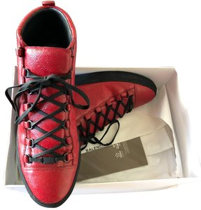 Balenciaga Red and Black Athletic