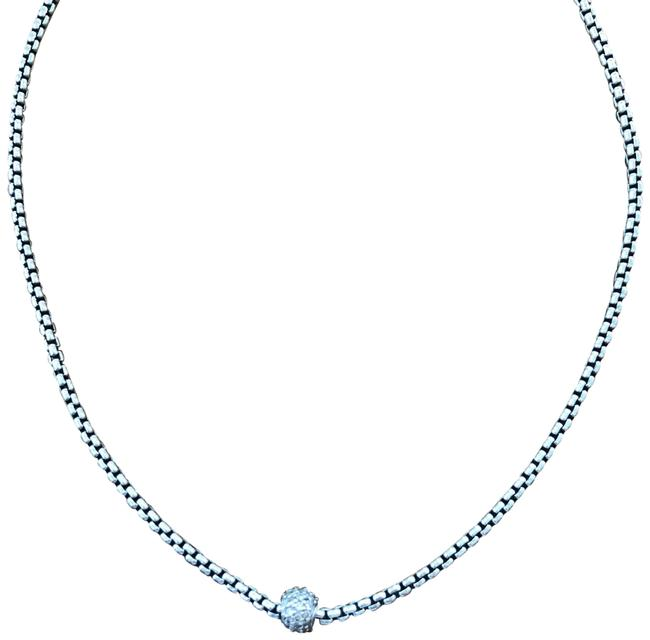 Item - Petite Pave with Diamonds Necklace