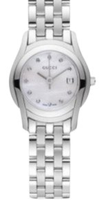 Gucci Gucci Stainless Steele Silver Tone 5500 L Women's Watch