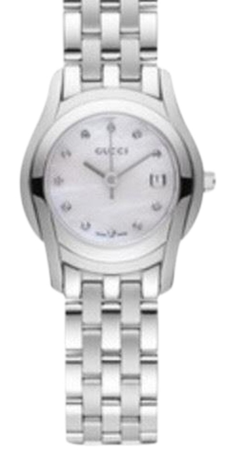 be31197da9c Gucci Gucci Stainless Steele Silver Tone 5500 L Women s Watch Image 0 ...
