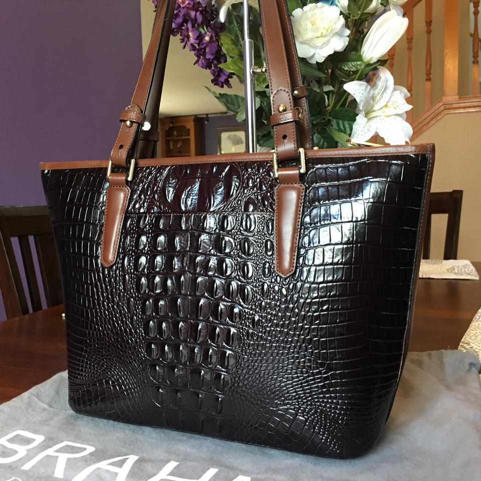 Asher Calf Hair Brown To Hard Morrison Tote Find Medium Brahmin Shoulder Bag w4F6qg8X