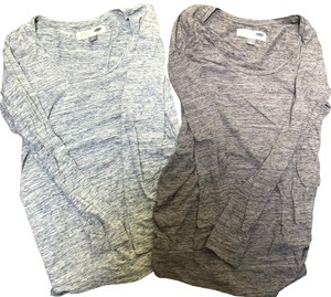 Old Navy Marled Scoop Neck Long Sleeve tshirts