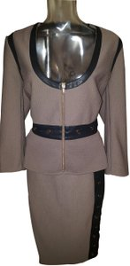 bebe Bebe skirt suit set, Size Large Jacket, Size Small Skirt