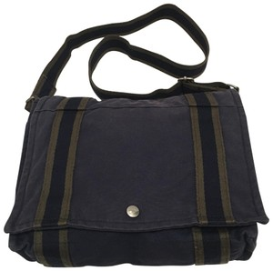Hermès Navy blue / green Messenger Bag