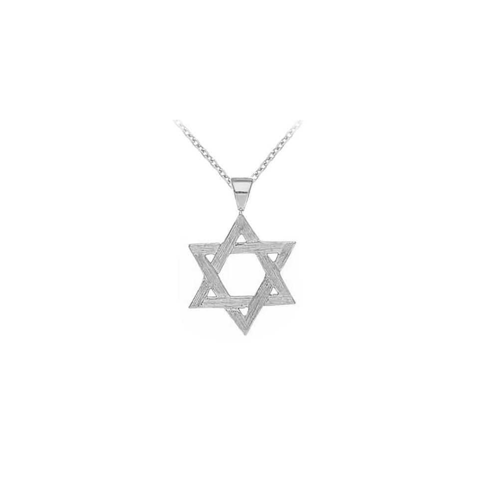 White 925 sterling silver star pendant necklace tradesy designerbyveronica 925 sterling silver star pendant necklace aloadofball Image collections