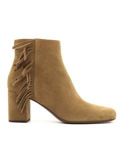 Saint Laurent Ankle Tan Boots