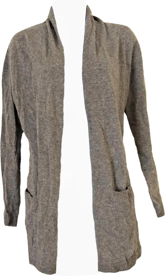 Boden Gray Cashmere Angora Blend Cardigan Size 6 S Tradesy