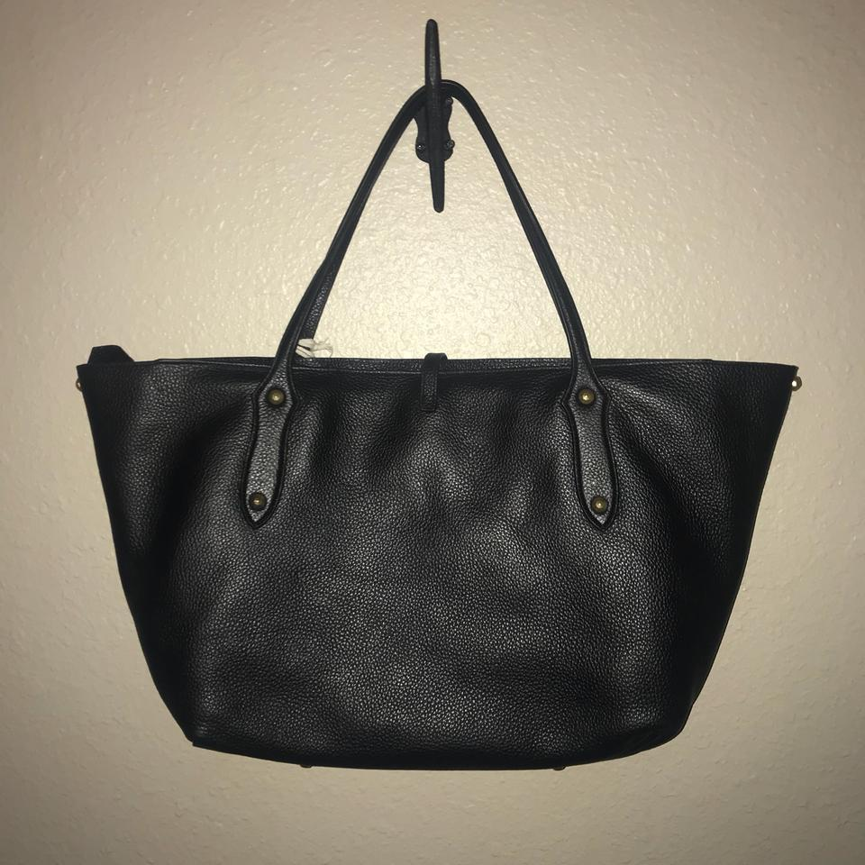 Large Black Isabella Tote Ingall Annabel Leather FvZw45Oq
