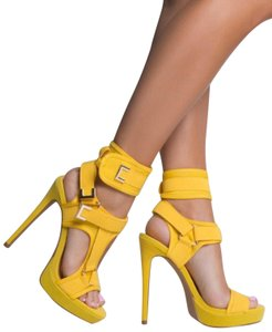 Shoe Republic LA Yellow Pumps