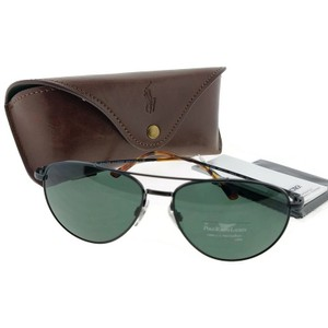 POLO RALPH LAUREN PH3094-926771-59 Aviator Men Black Frame Green Lens Genuine Sunglasses