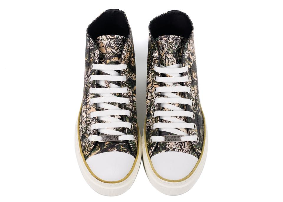 Cavalli Sneakers Mike Sneakers Roberto Tiger Brown Top High daWnUR4FqU