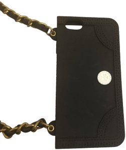 Tory Burch Black Silicone Iphone 8 Case Crossbody
