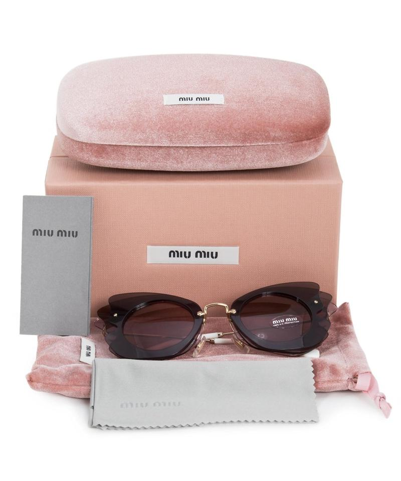 3ee0453c418 ... MIU MU02SS Multi Layered Butterfly Sunglasses NWT Made in Italy Image  3. 1234