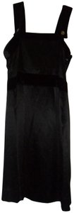 See by Chloé Silk One Shoulder Panel Shift Dress