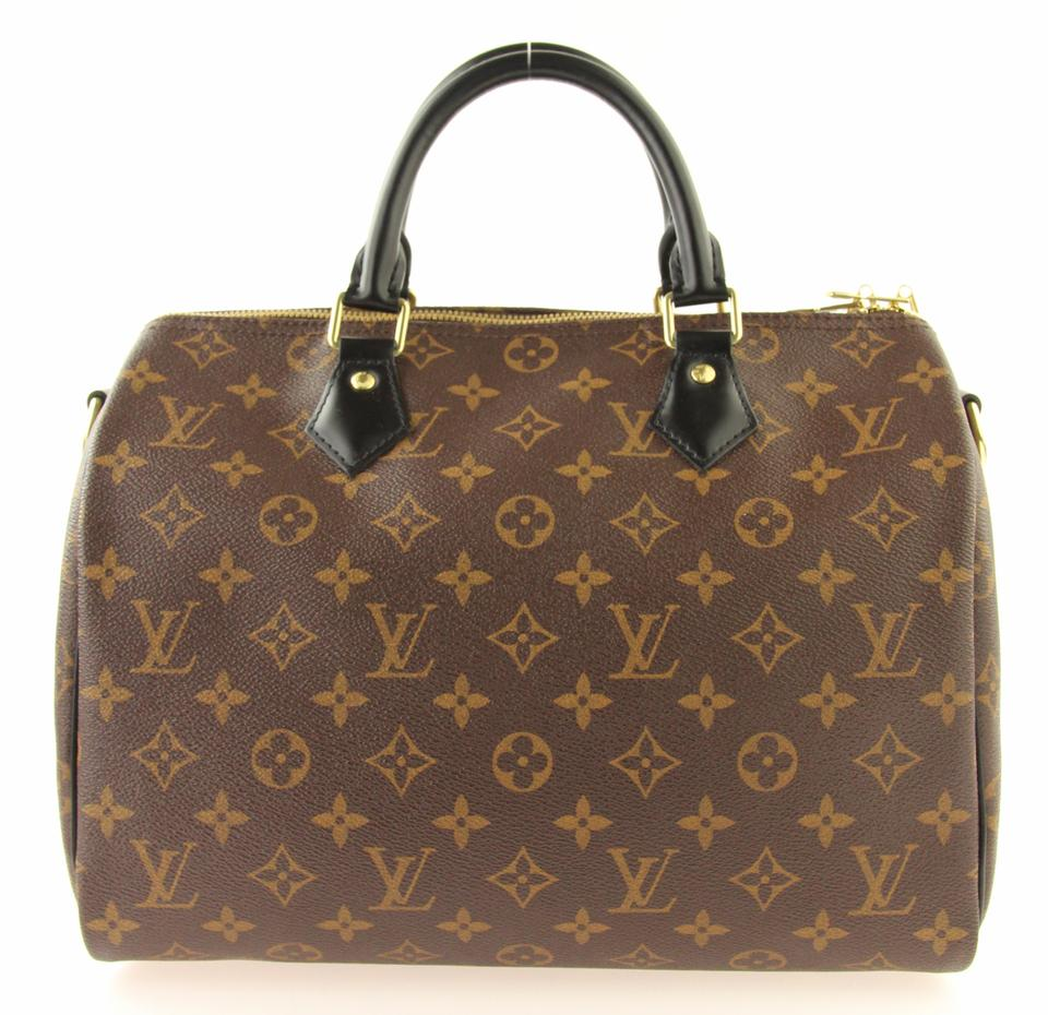 ef25b4ce0f01 Louis Vuitton My Lv World Tour Speedy Bandouliere Black Handles Speedy Monogram  World Tour Satchel in. 123456789101112