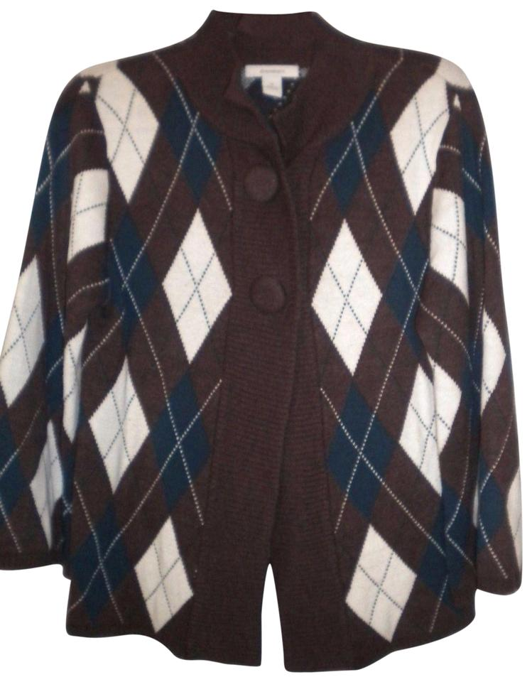 9b4178b9ca6 dressbarn Women Size Medium Cardigan Multi-color Sweater - Tradesy
