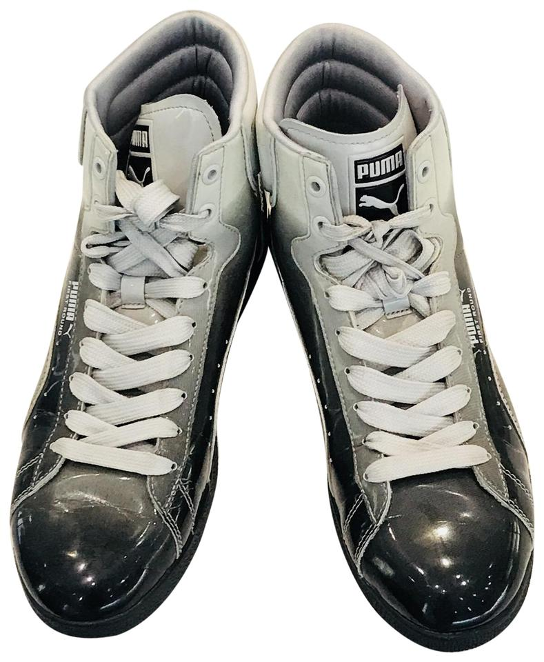 buy online a6893 2d643 Grey Ombre Patent Sneakers