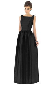 Alfred Sung Square Neck Cocktail Dress