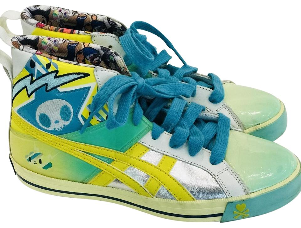 info for ad891 70426 Onitsuka Tiger Yellow Tokidoki Fabre Limited Edition Sneakers Size EU 38  (Approx. US 8) Regular (M, B)