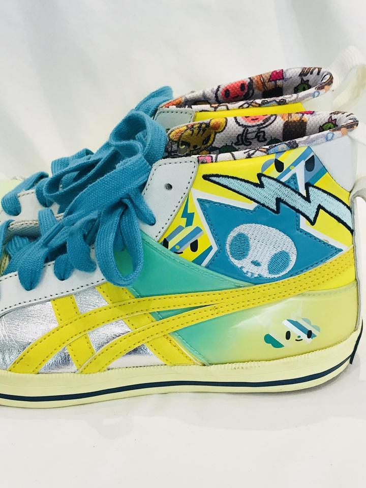 info for d8070 8e5e2 Onitsuka Tiger Yellow Tokidoki Fabre Limited Edition Sneakers Size EU 38  (Approx. US 8) Regular (M, B)