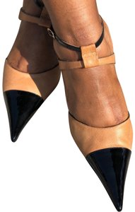 Sergio Zelcer Black / Camel Pumps