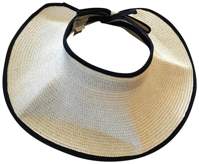 Item - Straw with Black Velcro Roll Up Hat