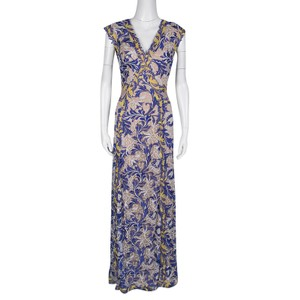 8ee2db5be60f Multicolor Maxi Dress by Tadashi Shoji Viscose Floral Embroidered