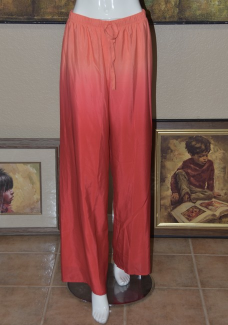 Badgley Mischka American Glamour BADGLEY MISCHKA in Red/Orange Ombre 2pc Pant Suit Image 2