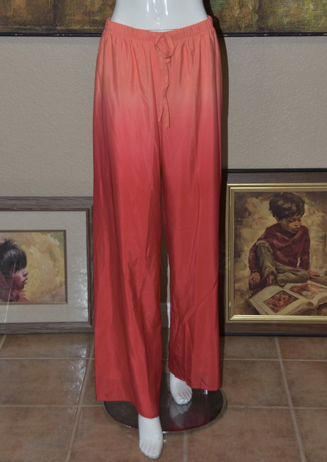 Badgley Mischka American Glamour BADGLEY MISCHKA in Red/Orange Ombre 2pc Pant Suit Image 7