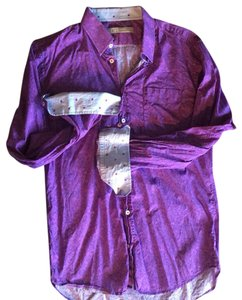 Georg Roth Los Angeles Button Down Shirt purple
