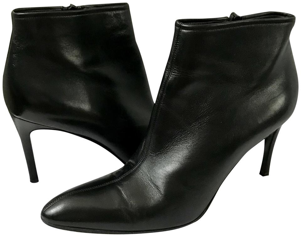 Saint Laurent Pointed Black Pointed Laurent Toe Ankle Boots/Booties 6a872a
