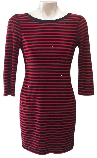 Preload https://img-static.tradesy.com/item/23795995/express-red-and-black-striped-short-casual-dress-size-0-xs-0-1-650-650.jpg