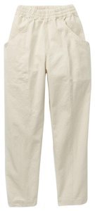 Elizabeth Suzann Relaxed Pants White