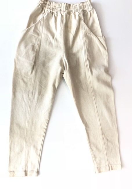 Elizabeth Suzann Relaxed Pants White Image 1
