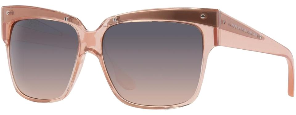 a8414bc20ca7 Marc by Marc Jacobs Pink Transparent Cateye Sunglasses - Tradesy