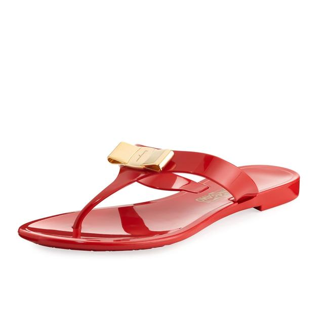 Item - Red Jelly New Farelia C Sandals Size US 5 Wide (C, D)