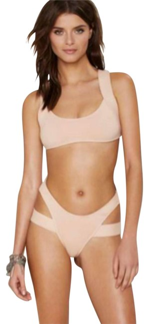 Item - Nude Nasty Gal New M Charlie Swimsuit Lady Fashion One-piece Bathing Suit Size 8 (M)