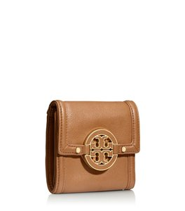 Tory Burch Tory Burch Amanda Trifold French Leather Wallet New