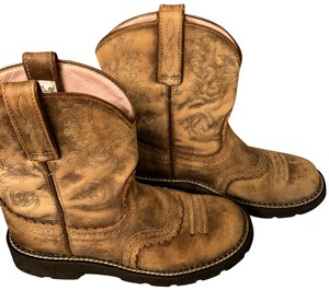 Ariat Distressed Leather Boots