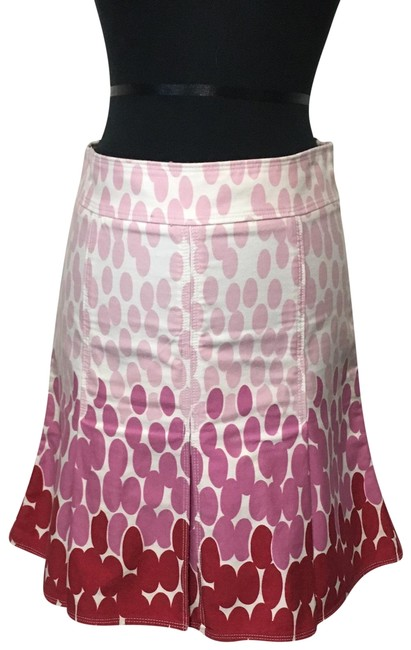 Marc Jacobs White/Pink/Purple/Red Ombré Skirt Size 2 (XS, 26) Marc Jacobs White/Pink/Purple/Red Ombré Skirt Size 2 (XS, 26) Image 1