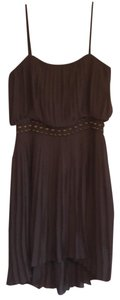 Nine West short dress brown on Tradesy